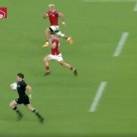 Beauden Barrett Proves He's Actually Human With The Biggest Calamity Of The World Cup So Far