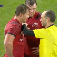 Munster's Arno Botha Handed The Softest Red Card Of The Season