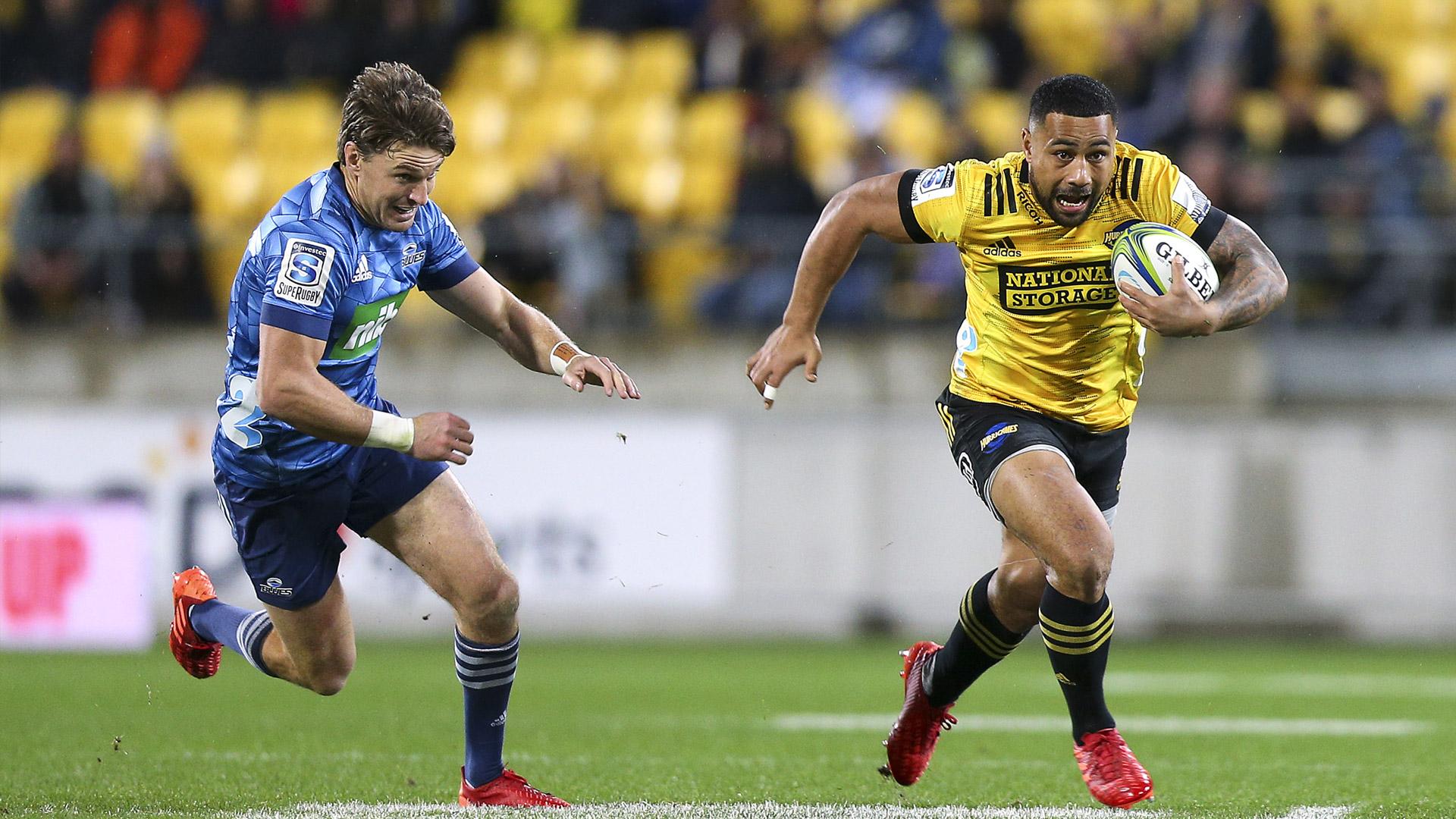 Super Rugby Aotearoa: Irresistible Hurricane Ngani Laumape unleashes at critics