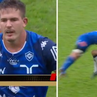 WATCH: Top 14 Player Red-Carded Following One Of The Worst Tackles We've Ever Seen