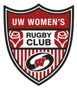 Logo crest of the UW Women's Rugby Club