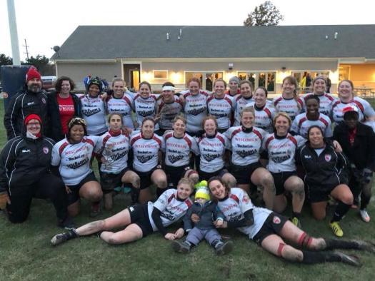 Photo of WWRFC team November 2017