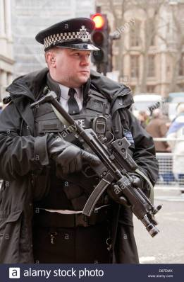 armed-police-officer-with-submachine-gun-in-london-D87DMX