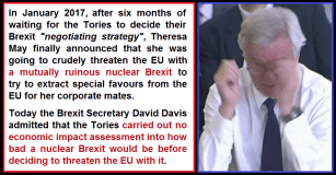David Davis Theresa May nuclear Brexit