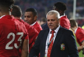 CHRISTCHURCH, NEW ZEALAND - JUNE 10: Warren Gatland the head coach of the Lions looks on during the 2017 British & Irish Lions tour match between the Crusaders and the British & Irish Lions at the AMI Stadium on June 10, 2017 in Christchurch, New Zealand. (Photo by David Rogers/Getty Images)