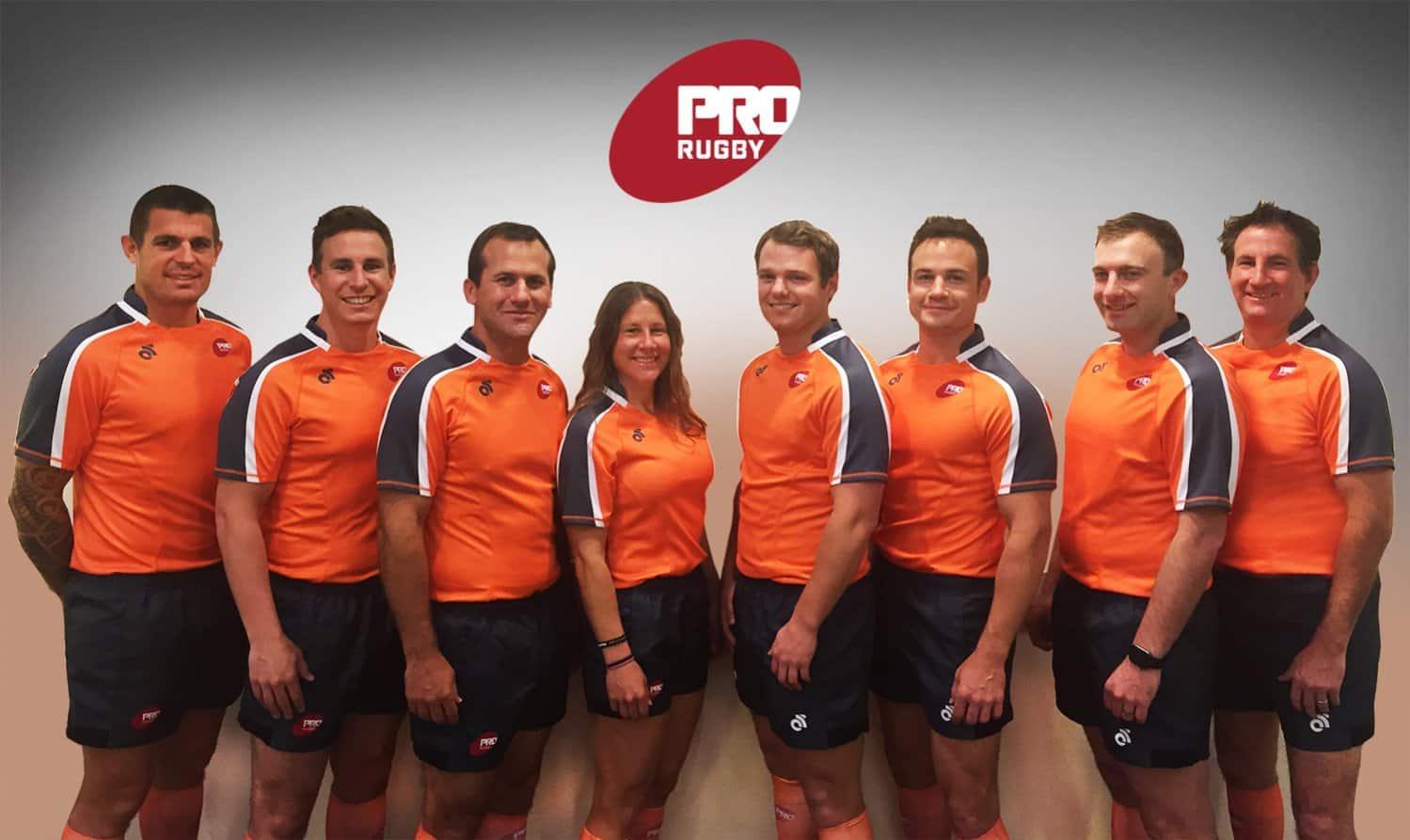 ProRugby refs team