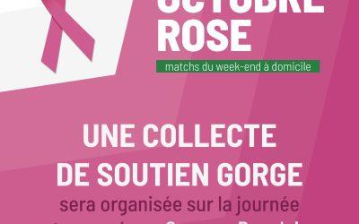 Octobre Rose –  Collecte de soutien-gorges pour le Secours Populaire.