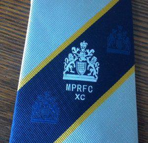 London Metro Police tie