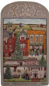 Village of Pemberville, hooked by Cindi Gay