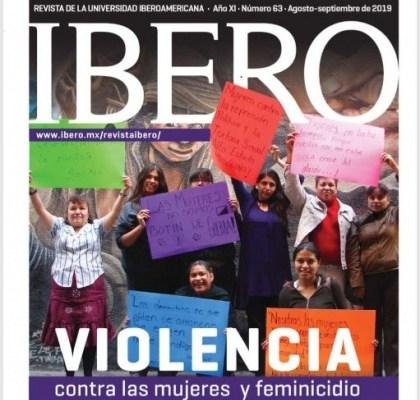 Revista electrónica IBERO – Violencia contra las mujeres y feminicidio, Vol. 63