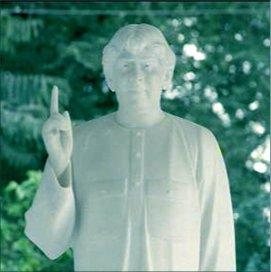 Sadhu Vaswami Statue at Darshan Museum Pune