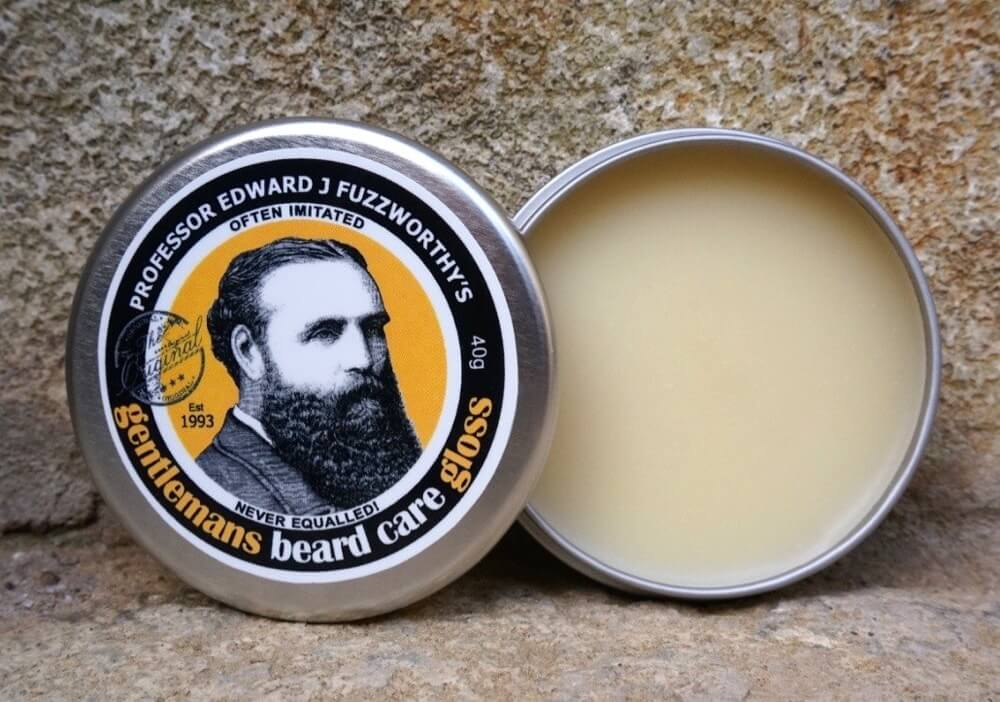 Professor Edward J. Fuzzworthy's Gentleman's Beard Care Gloss