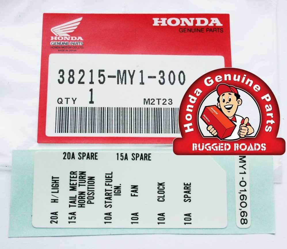 medium resolution of 03 honda fuse box