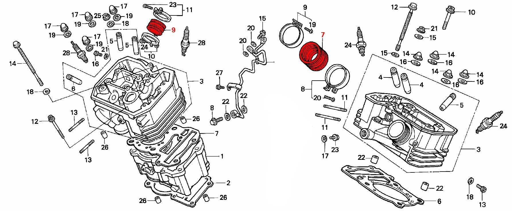 Honda Crf 230 Engine Diagram. Honda. Auto Wiring Diagram