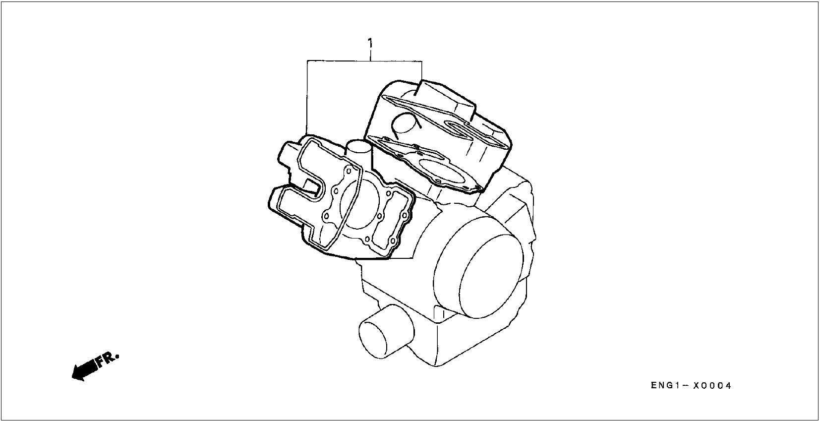 Oem Honda Gasket Kit A