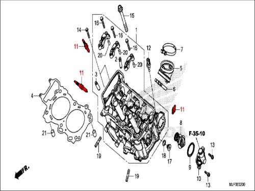 small resolution of ngk laser iridium spark plug crf1000 africa twin and crf1000 adventure sport all years