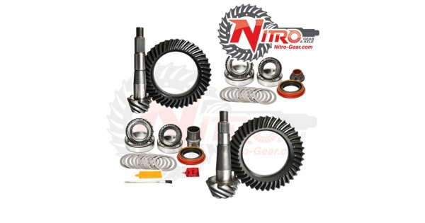 5.13 Nissan Hard Body Gear Package by Nitro 1990, 1991