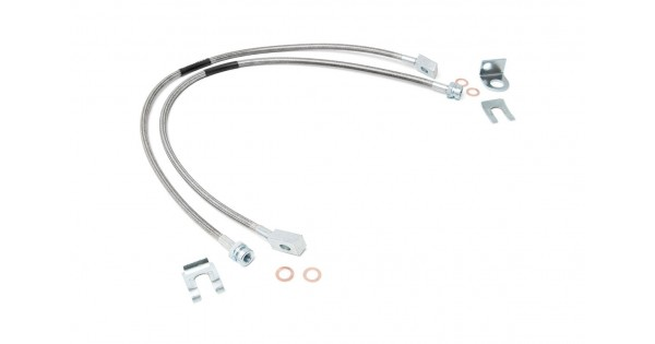Nissan Frontier Solid Axle Swap Brake Line Kit by Rugged