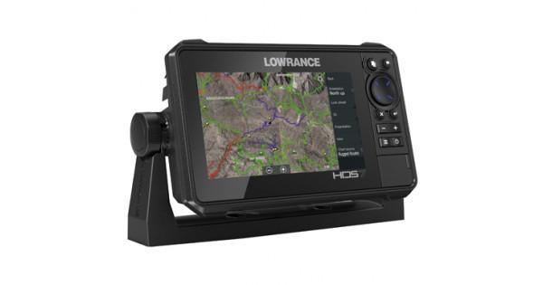 HDS-7 Live Multifunction Off Road GPS Baja Bundle By Lowrance