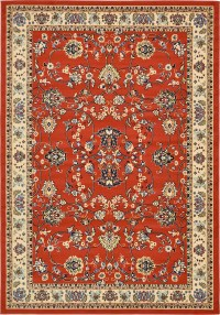 Traditional Persian Design Area Rug Oriental Style Floral ...