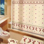 Bathroom Rugs & Curtain Sets & Basin Accessories