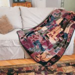 Small Modern & Contemporary Blankets