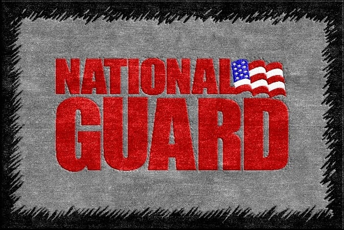 Buy National Guard Logo Rug Online  Rug Rats