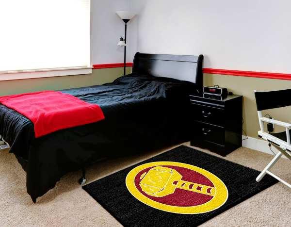 Superhero Rug Home Decor