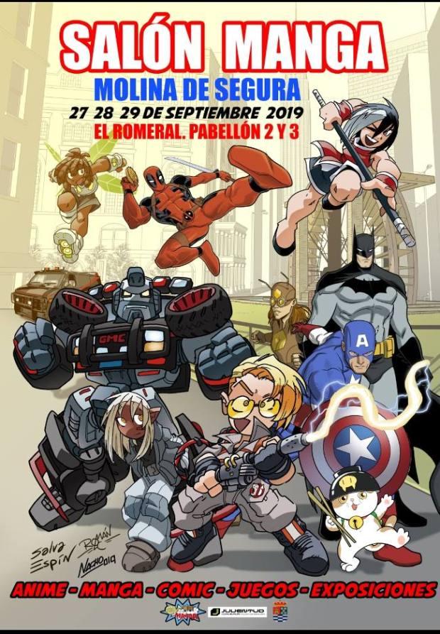 Salón Manga de Molina de Segura 2019