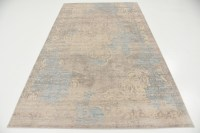 Transitional Faded Vintage Design Area Rug Traditional ...