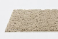 Modern Area Rug Shaggy Small Carved Carpet Plush Style ...