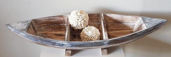 ID 07 Waroom Boat Storage Bowl Rustic Wood