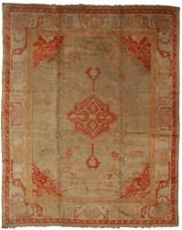 Antique Turkish Oushak 10x12 Rug 13680 - Oriental Rugs