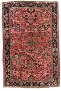 3 x 5 Antique Wool Persian Sarouk Rug 14125 | Exclusive ...