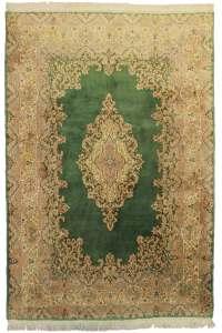 6 x 8 Vintage Wool Persian Kerman Rug 10500 | Exclusive ...