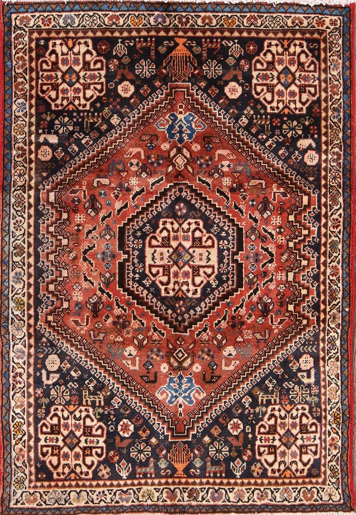 3x5 Shiraz Persian Area Rug  Rug Source