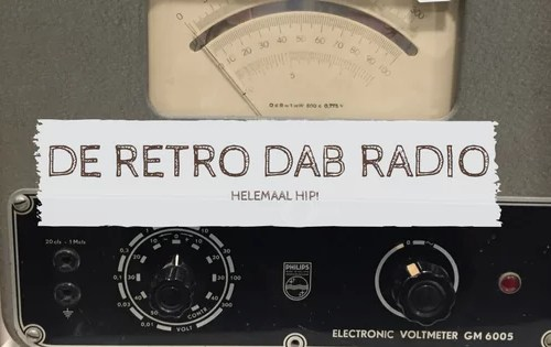 De retro DAB Radio