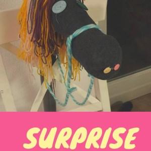 Surprise paard van Sinterklaas. Makkelijk, snel en leuk om te maken