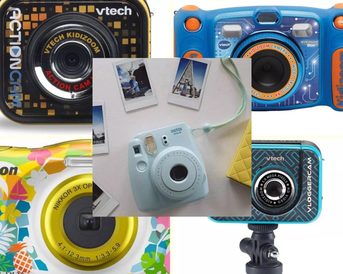 Dit zijn de 5 leukste kindercameras