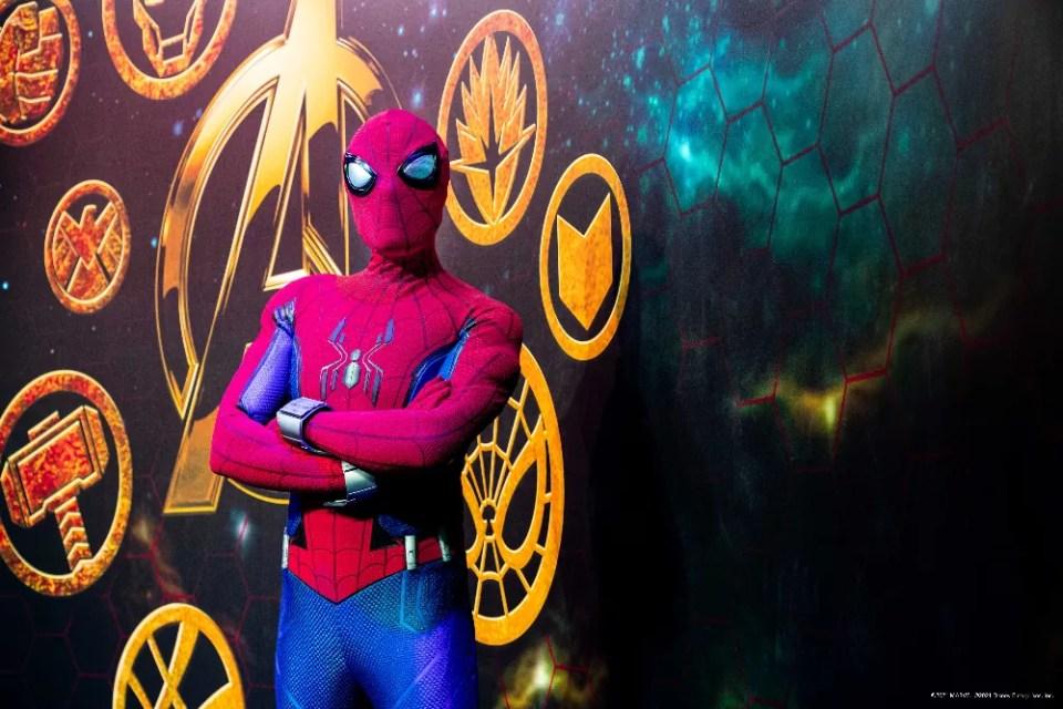 Super Hero Station Disneys HOtel New York  The Art of Marvel