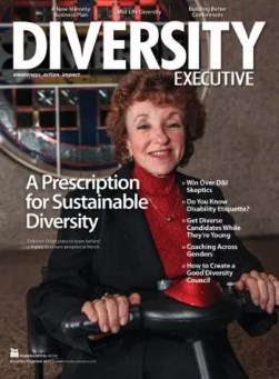 Deb Dagit on Diversity Magazine. Image from: http://abilityaxis.com/debdagit.html