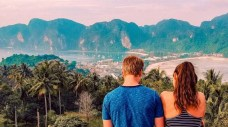 Looking out over Koh Phi Phi Viewpoint