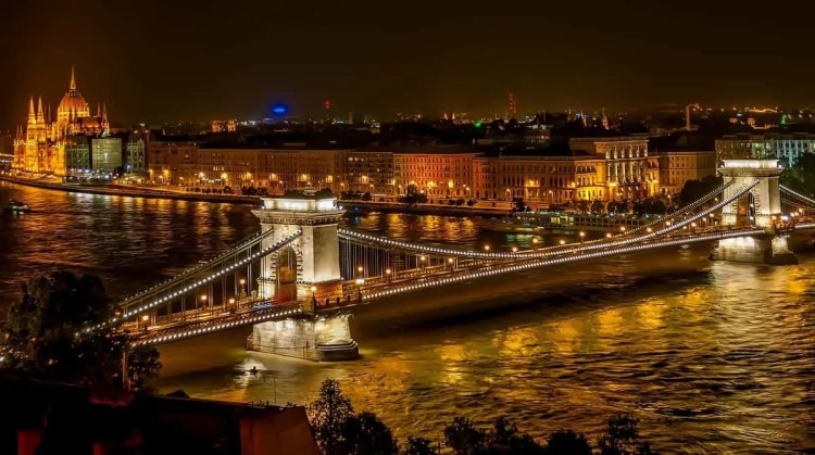 Budapest Hungary is a very affordable honeymoon destination in Europe. Explore Budapest and see gorgeous Hungarian architecture and try delicious Hungarian food. See the Chain Bridge and Parliament Building. Budapest Hungary is one of the best honeymoon destinations in Europe. Stunning, romantic yet budget friendly!