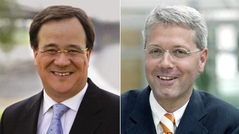 Armin Laschet und Norbert Röttgen