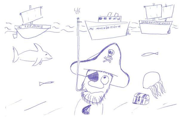 Der letzte Strohhalm, oder: Piraten auf Grund