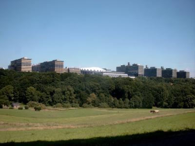 Ruhr-Universität Bochum von Bochum-Stiepel aus