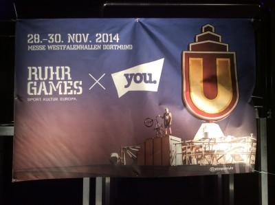 Cross-Marketing: RuhrGames x YOU.
