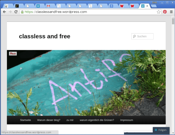 Blog classless and free