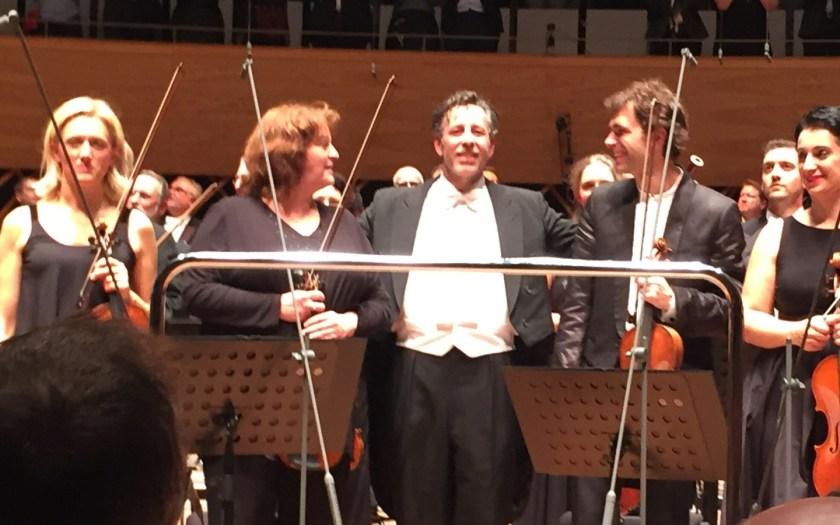 Dirigenten und Musiker