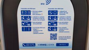 Laden leicht gemacht. Egal bei welchem Versorger man Kunde ist, vier Schritte reichen. (Foto: RuhrkanalNEWS)